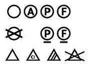 Ярлыки, ярлычки, значки и обозначения на одежде