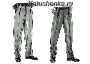 Шаговые швы на брюках это