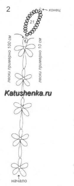 Схема для фенечки