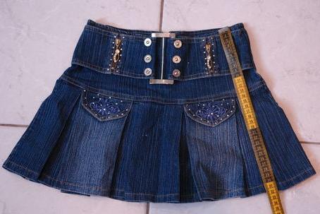 скачать бесплатно выкройки джинсовой юбки - Выкройки одежды для детей и