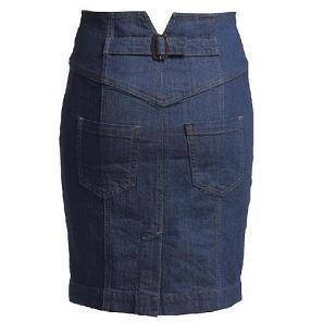 Модные и красивые фасоны женских джинсовых юбок. Коллекция ...