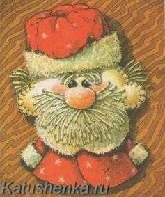 Поделка Дед Мороз