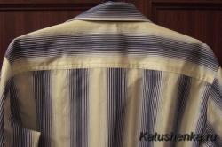 Кокетка на мужской рубашке