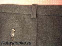 Стрелки на женских брюках