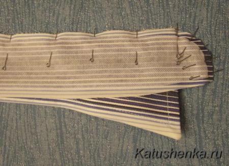 Обработка стоек на воротнике