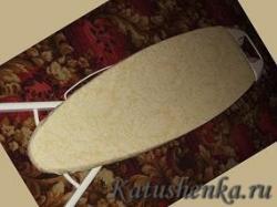 Как сшить чехол для гладильной доски