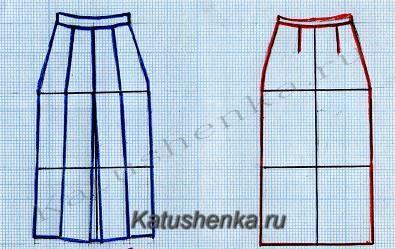 Технические рисунки одежды