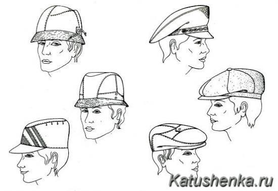 Шитые мужские головные уборы
