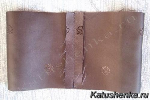 Обработка манжеты рукава