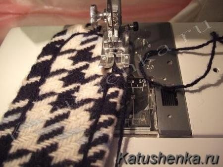 Обработка паты на рукаве
