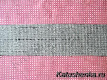 Как пришить пояс к юбке с пуговицей