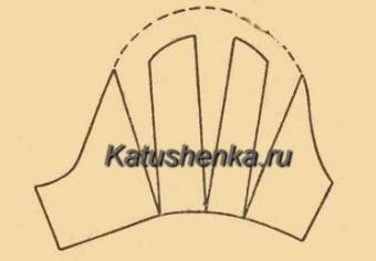 Выкройка рукава