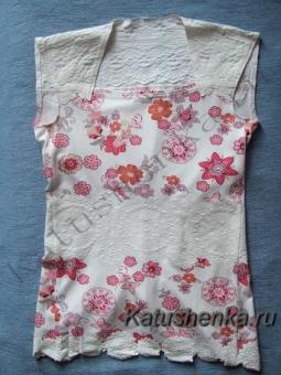 Делаем футболки из обрезков ткани