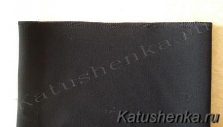 Обработка низа брюк или юбки