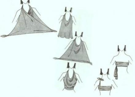 Завязывание платка