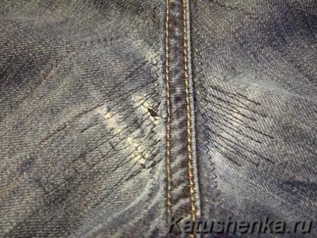 Как отремонтировать джинсы