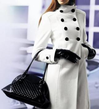 Как украсить пальто
