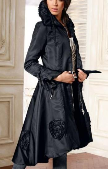 5. А еще украсить пальто можно при помощи красивого или необычного воротника.