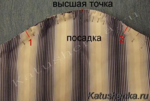 Как правильно вшить рукав