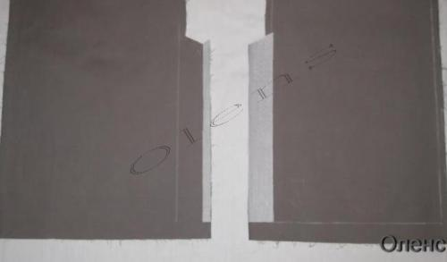 Обработка шлицы на юбке