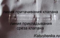 Клапан кармана
