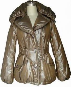Воротник женской куртки