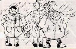 Как сшить детский дождевик своими руками