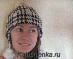 Женская зимняя шапка своими руками