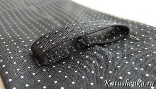 Технология пошива галстука
