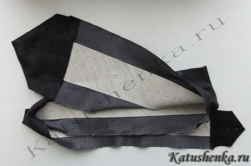 Как шить галстук