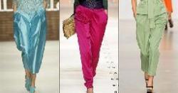 Основа женских брюк