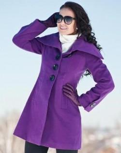 Девушка в зимнем пальто
