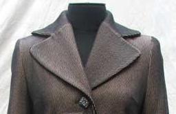 Английский воротник в пальто