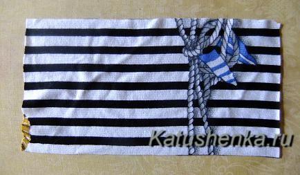 Как сделать бант из ткани