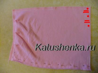 Шапочка--полотенце