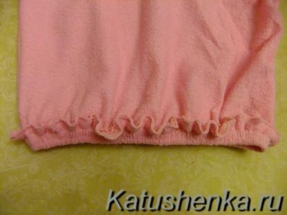 Шапочка-полотенце