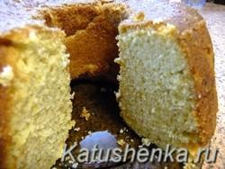 Как сделать сметанный кекс. Рецепт