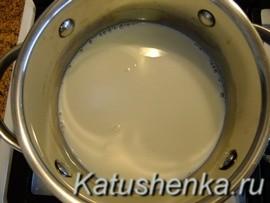 Как варить манную кашу на молоке