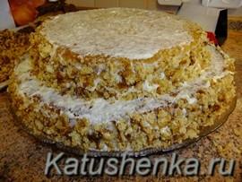 Домашний торт птичье молоко
