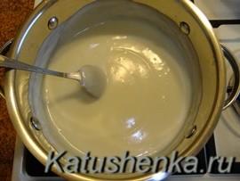 Как сделать крем для торта птичье молоко