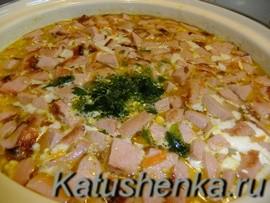 Суп с сардельками рецепт